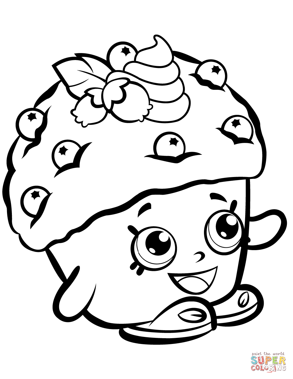 961x1244 Shopkins Season 1 Coloring Pages Free Coloring Pages