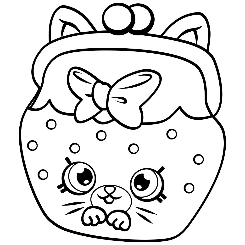 1024x1024 Shopkins Season 4 Coloring Pages
