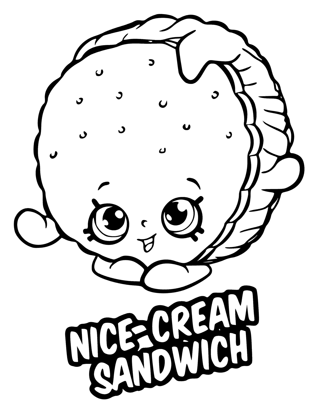 1024x1320 Shopkins Season 6 Coloring Pages