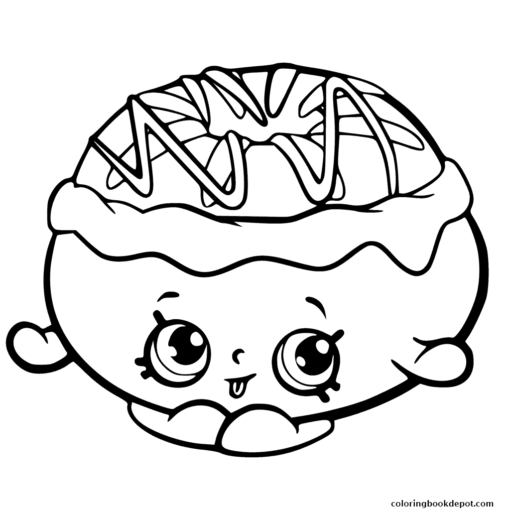 1024x1024 Chrissy Cream From Shopkins Season 6 Chef Club Coloring Pages
