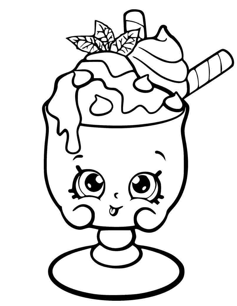805x1042 Honeeey Shopkins Season 2 Coloring Page