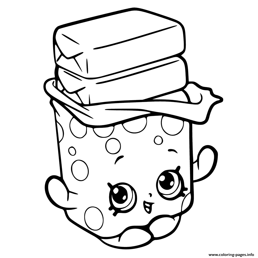 1024x1024 Print Bobby Bubble Gum Shopkins Season 6 Coloring Pages Shopkins