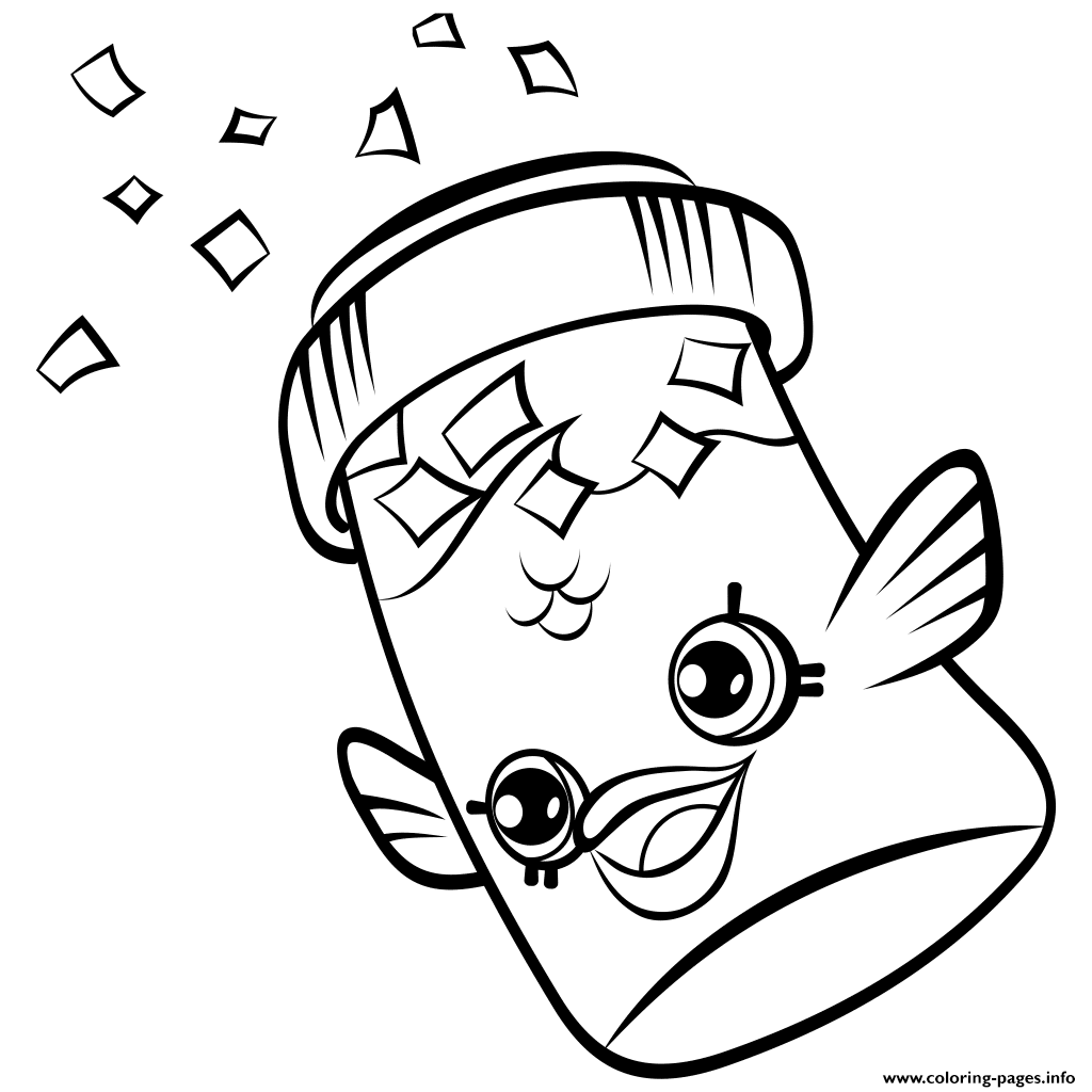 1024x1024 Print Fish Flake Jake Petkins Shopkins Season 4 Coloring Pages