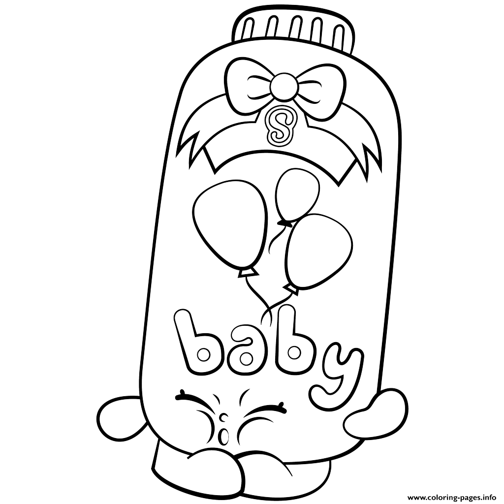 1024x1024 Print Powder Baby Puff Shopkins Season 2 Coloring Pages Shopkins