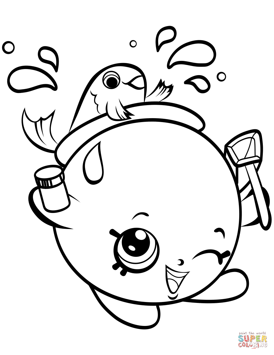 906x1172 Shopkins Season 4 Coloring Pages Free Coloring Pages