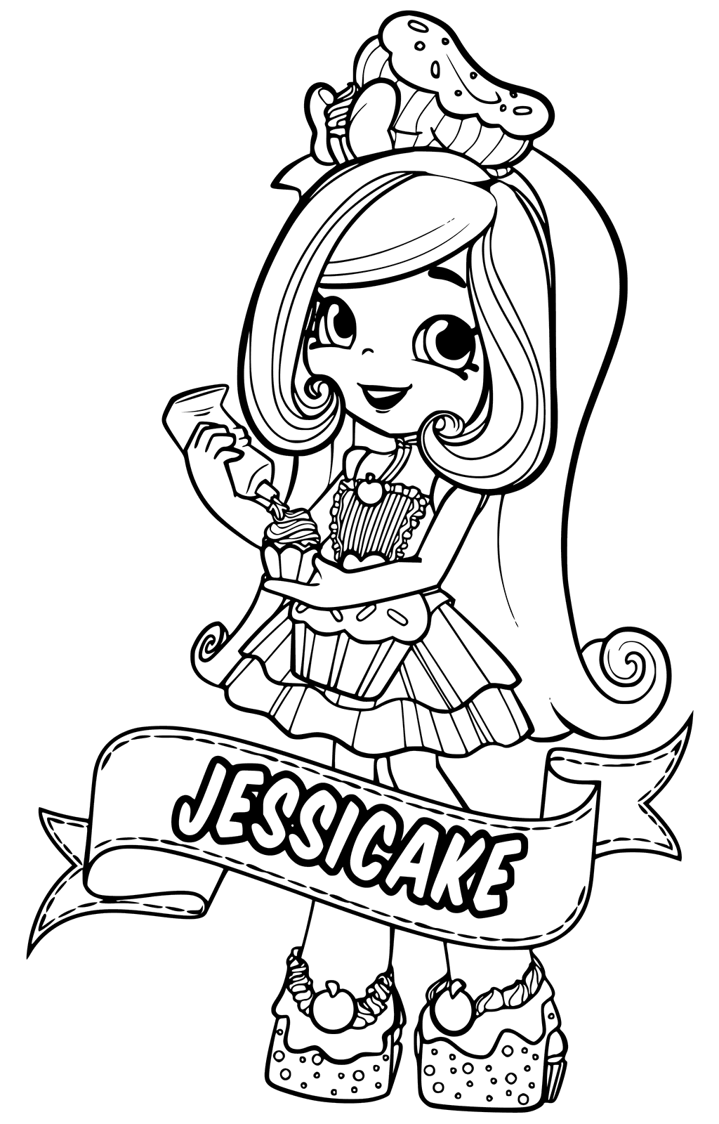1024x1600 Toy Doll Coloring Pages ~ Alltoys