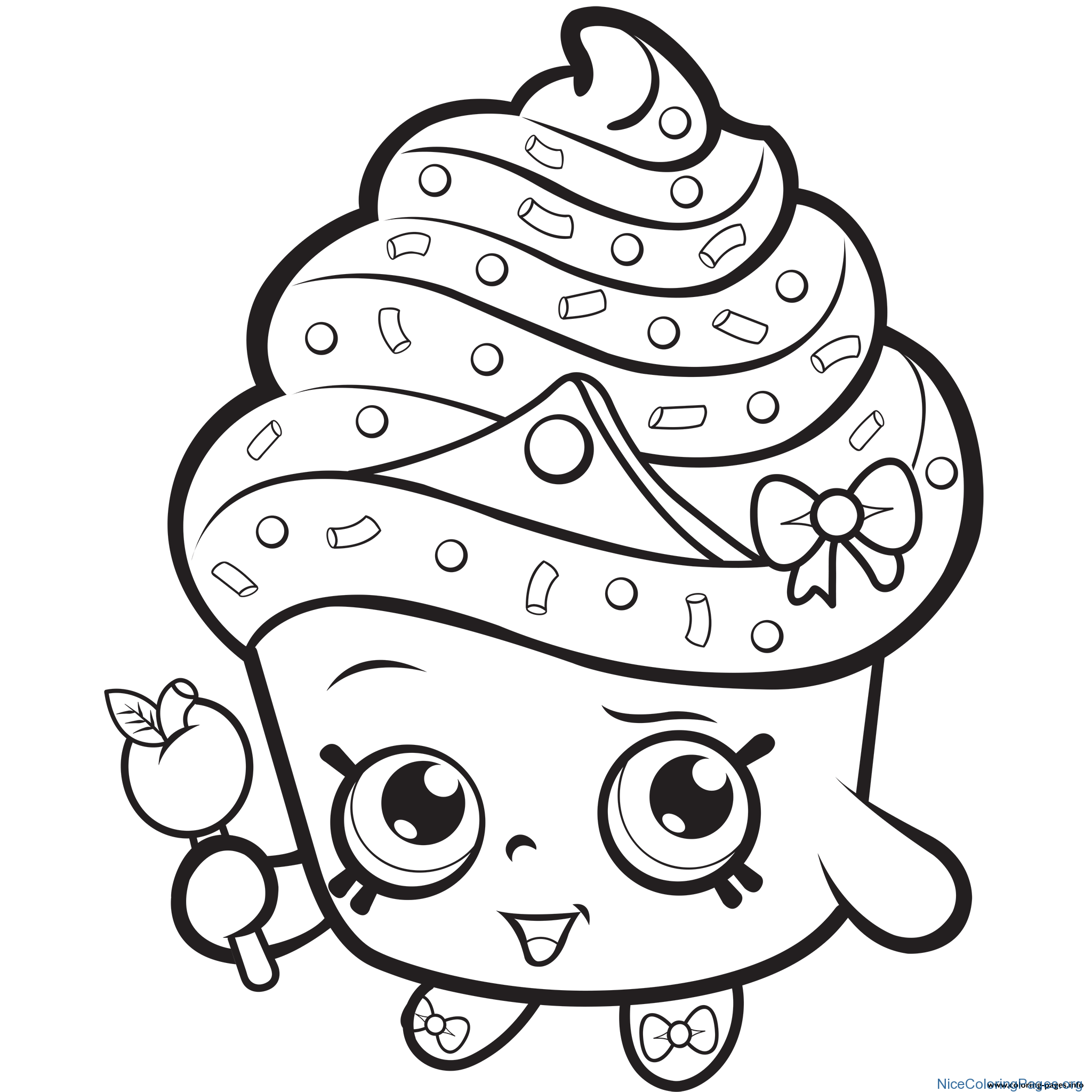 2048x2048 Shopkins Cupcake Coloring Pages Nice Coloring Pages For Kids
