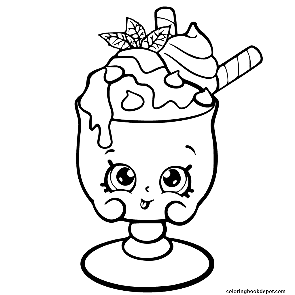 1024x1024 Choc Mint Charlie From Shopkins Season 6 Chef Club Coloring Pages
