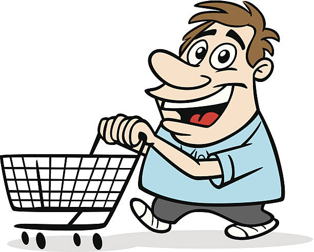 612x492 Shopping Trolley Clipart Man Amp Shopping Trolley Clip Art Man