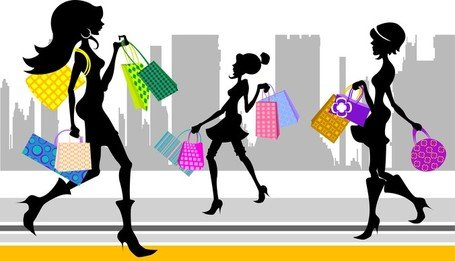 455x261 Shopping Center Interior Clip Art, Vector Shopping Center Interior
