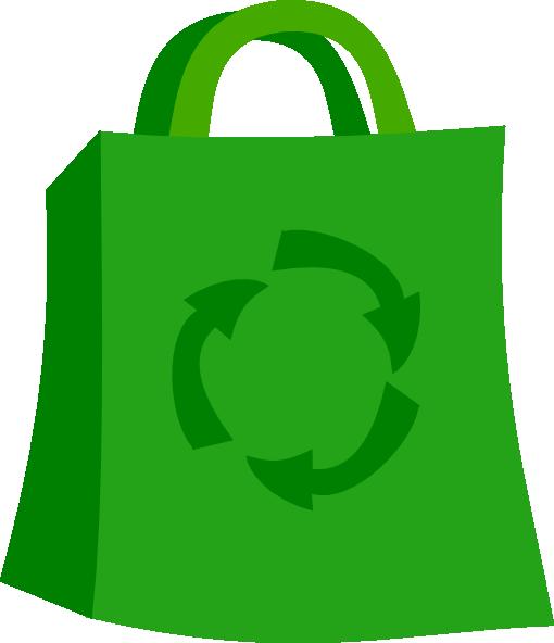 510x592 Green Shopping Bag Clip Art