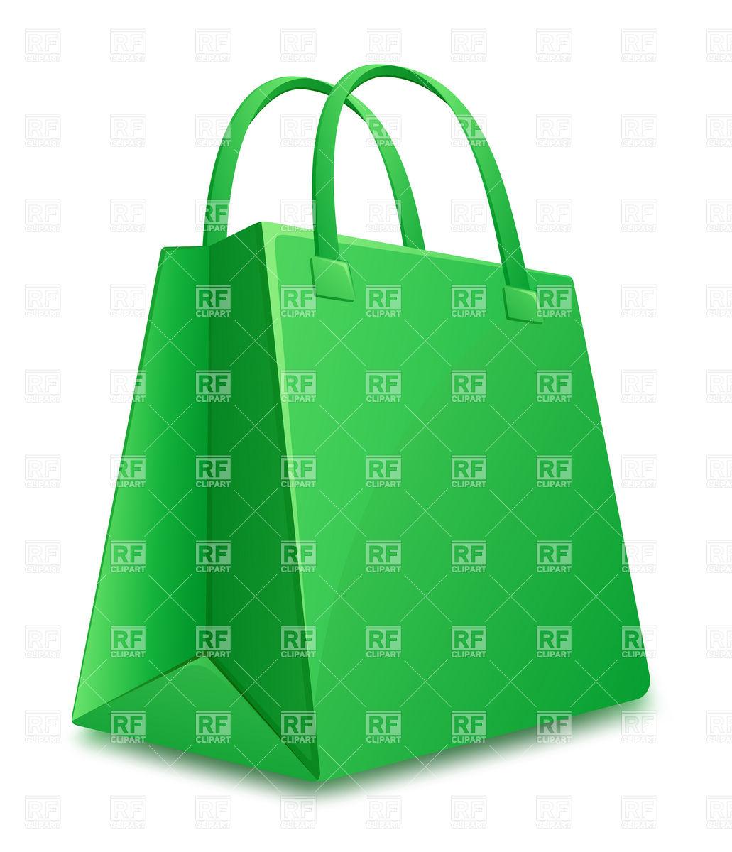 1031x1200 Green Shopping Bag Icon Royalty Free Vector Clip Art Image