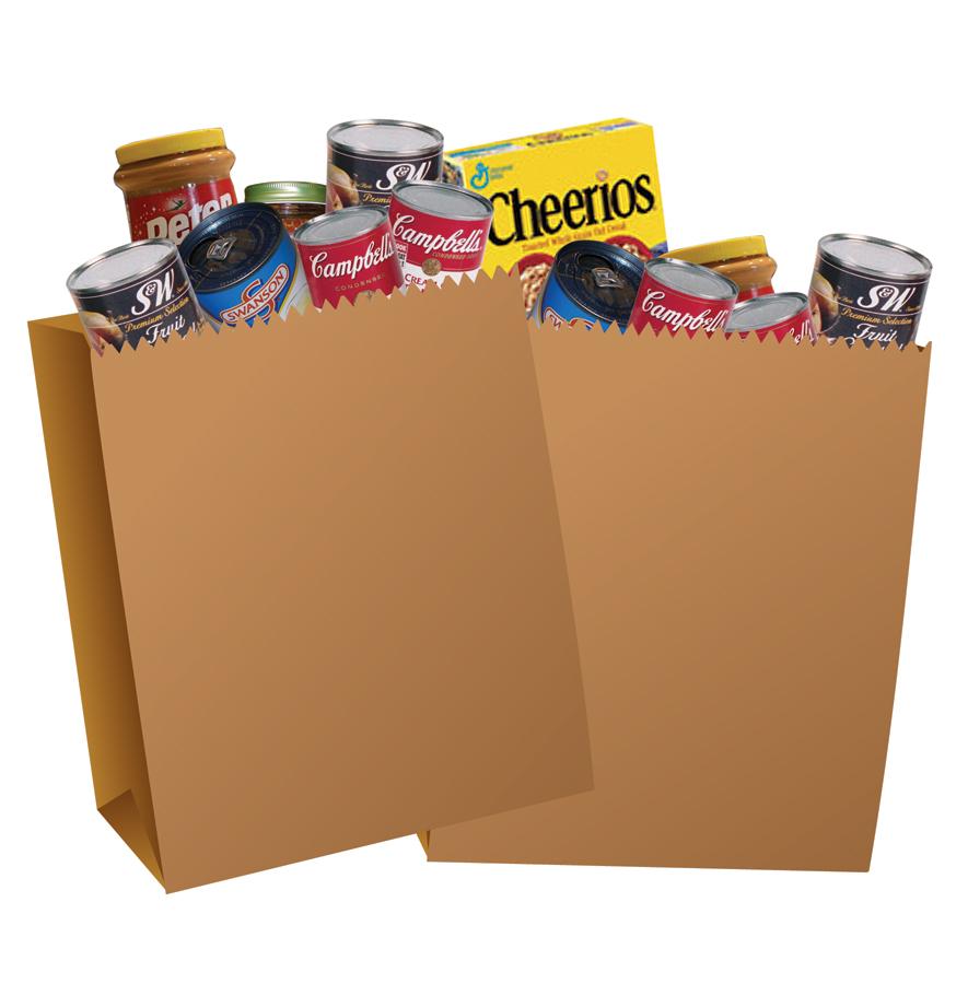 885x900 Grocery Bag Clip Art