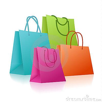 400x400 Shopping Bag Clip Art