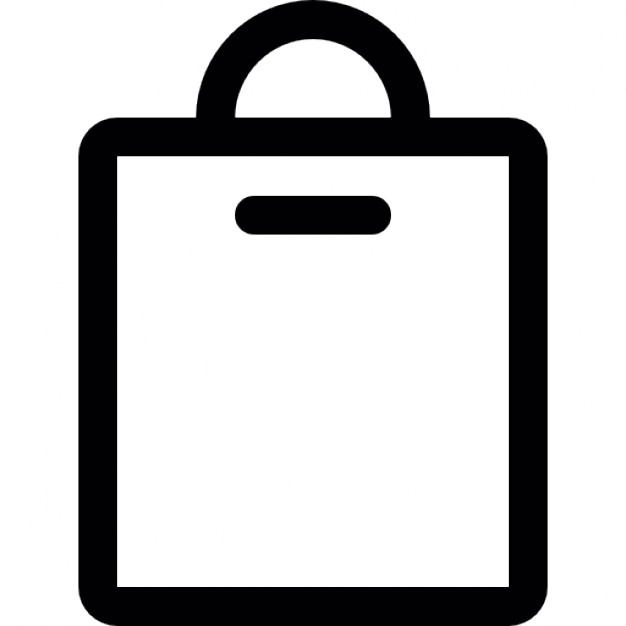 626x626 Shopping Bag Outline Icons Free Download Clip Art