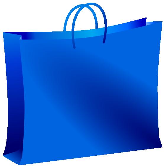 555x563 Blue Shopping Bag Clip Art Clipart Panda