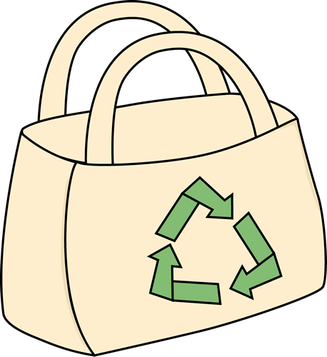 458x500 Eco Friendly Shopping Bag Clip Art