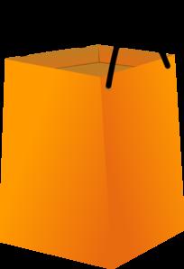 204x298 Shopping Bag With Black Handles Clip Art