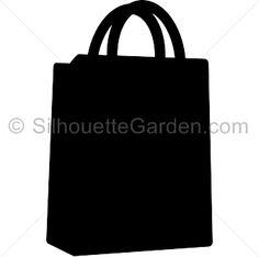 236x234 Bag Clipart Silhouette