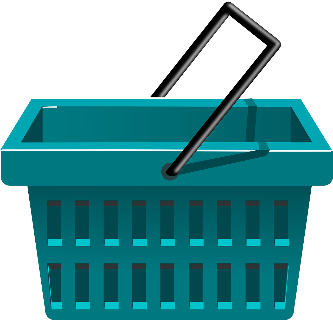1280x1230 Bag Clipart Grocery Basket