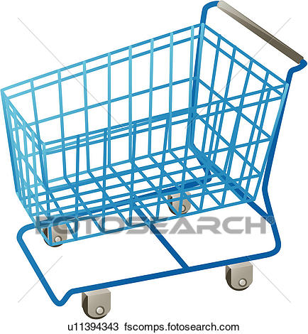 434x470 Clipart Of Shopping Cart, Kitchen Item, House Item, Logo, Cart