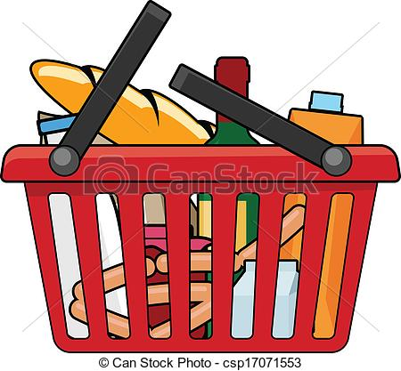 450x417 Clipart Shopping Basket