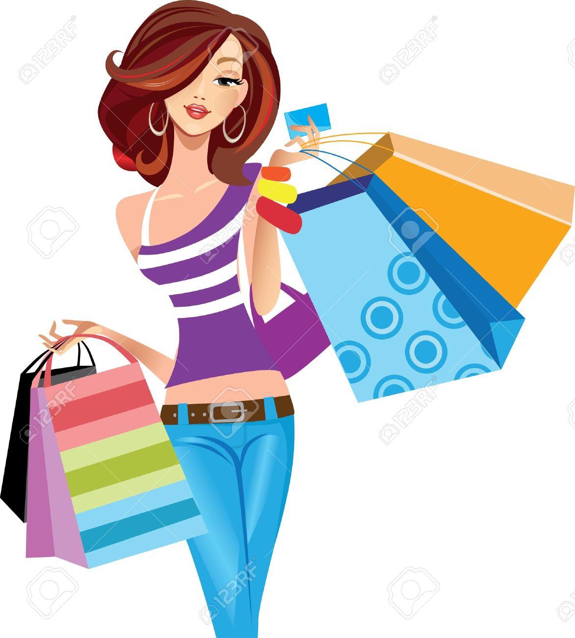 1171x1300 Fashion Clipart Going Shopping