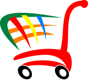 299x270 Shopping Cart Clip Art