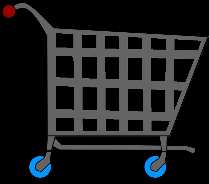 800x705 Shopping Cart Clipart
