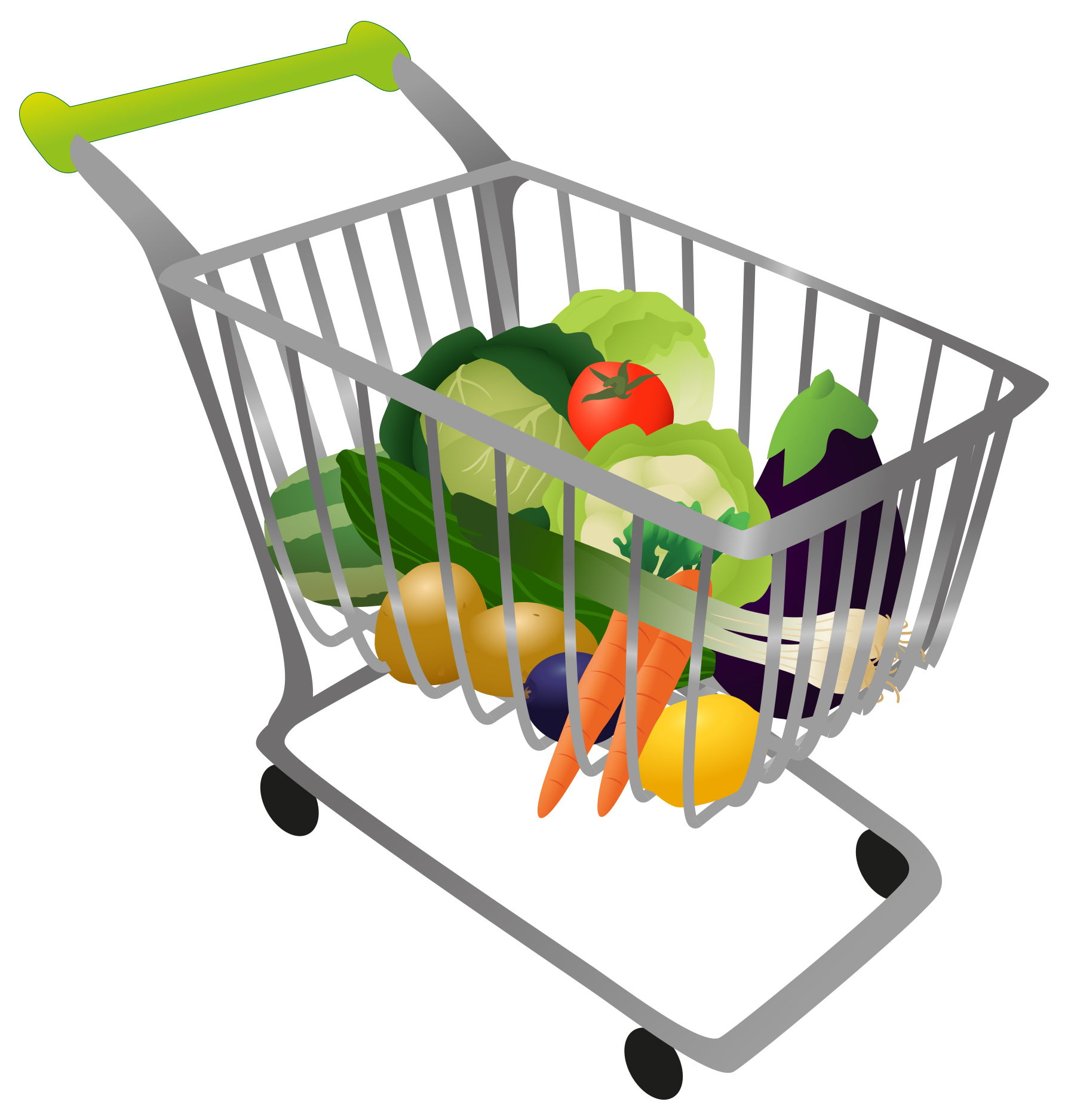 1788x1875 Shopping For Food Clipart