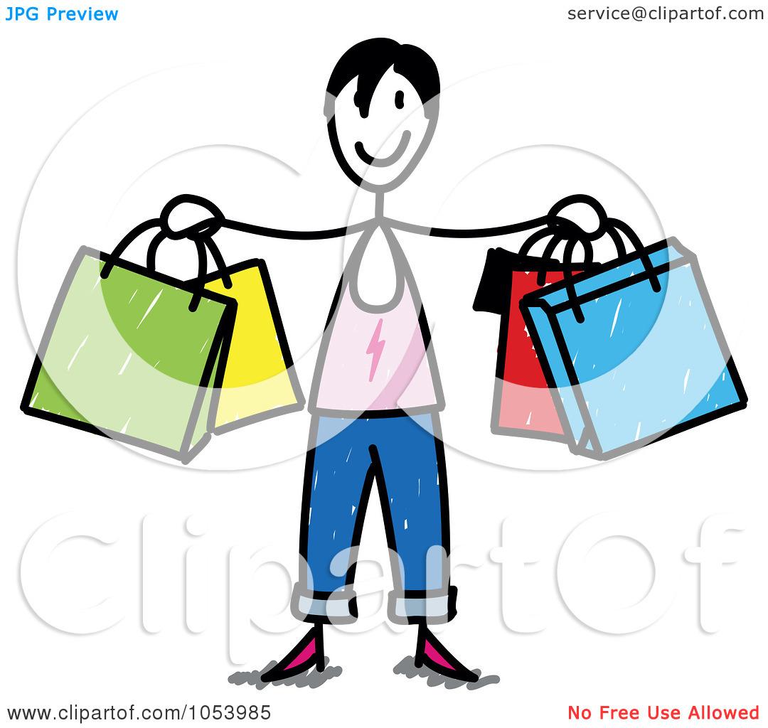 1080x1024 Shopping Clipart Royalty Free Vector Cliprt Illustration