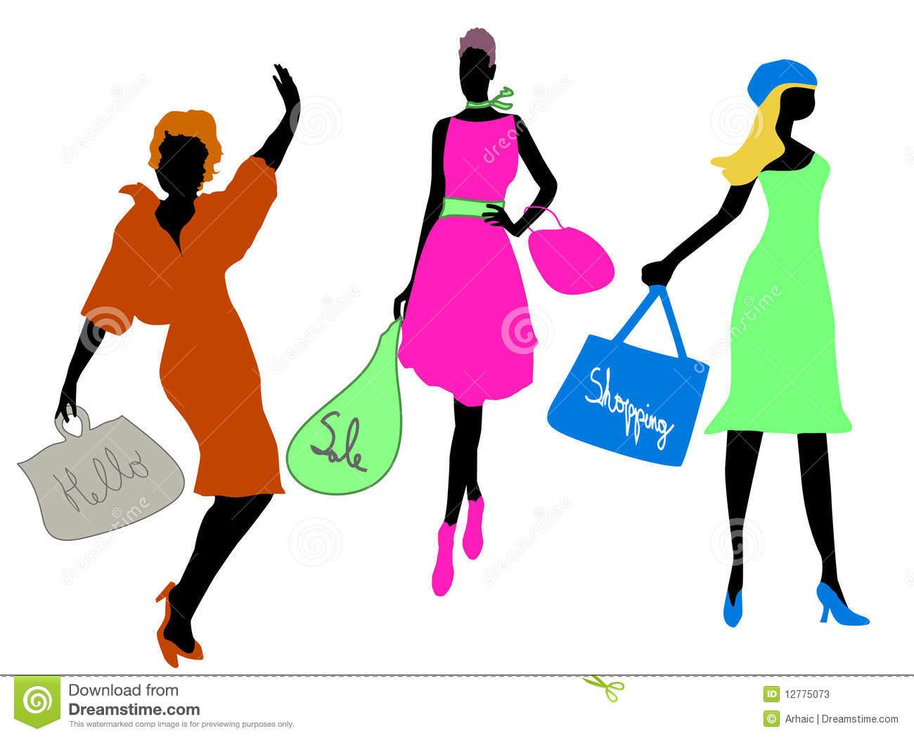1300x1050 Fashion Clipart Fashion Shopping