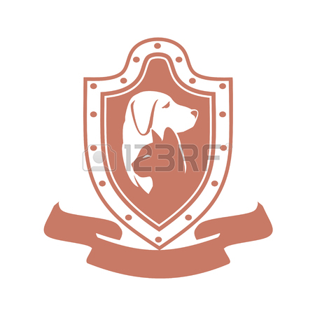 450x450 Abstract Design Concept For Pet Care, Shops, Food, Veterinary