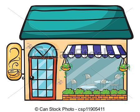 450x361 Shop Clipart Cafe Building