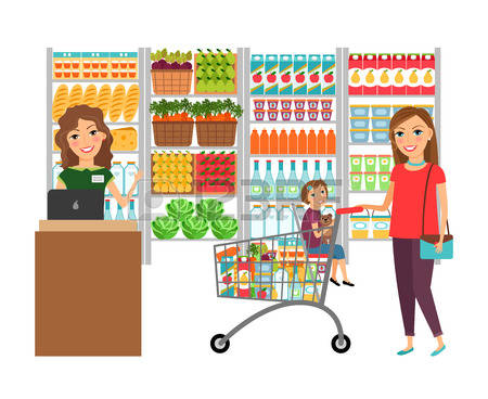 450x368 Shop Clipart Grocery Store