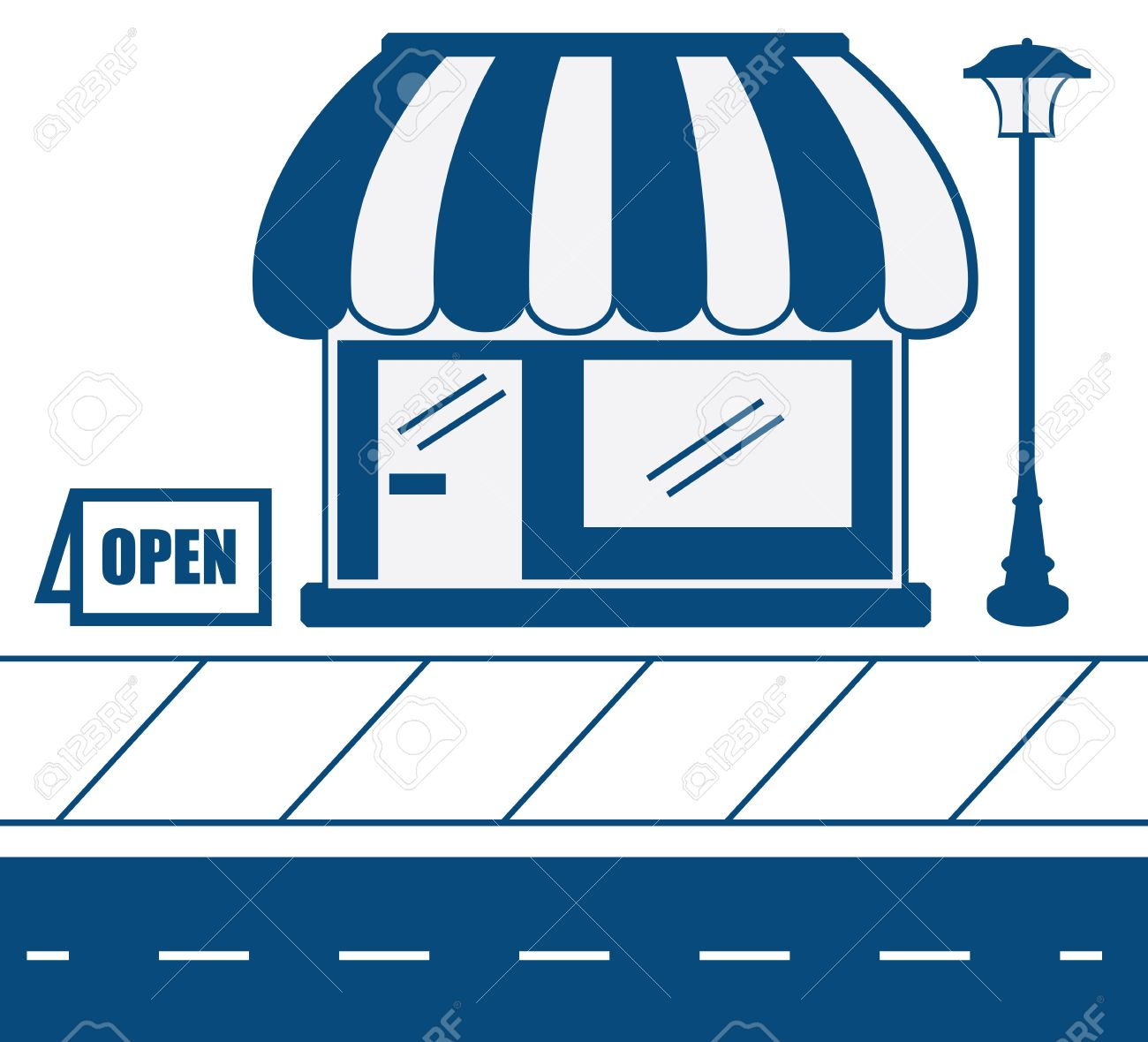 1300x1180 Shop Clipart Small Business