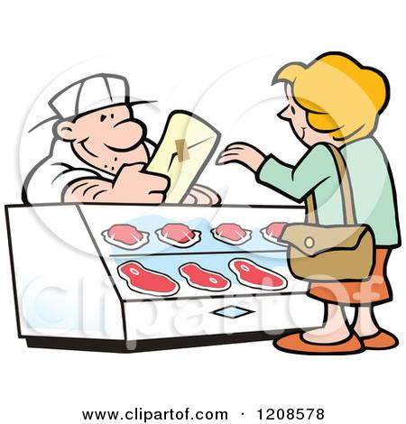 450x470 Bulding Clipart Butcher Shop