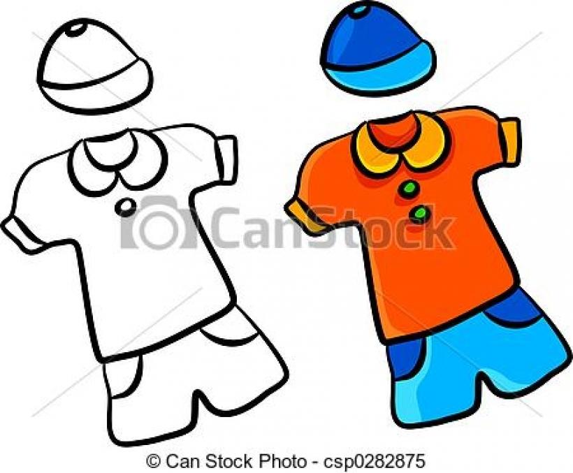 820x677 T Shirt And Shorts Clip Art Clipart Regarding T Shirt And Shorts