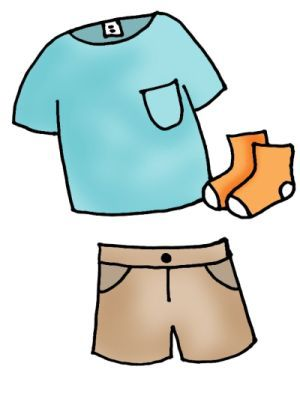 Shorts Clipart
