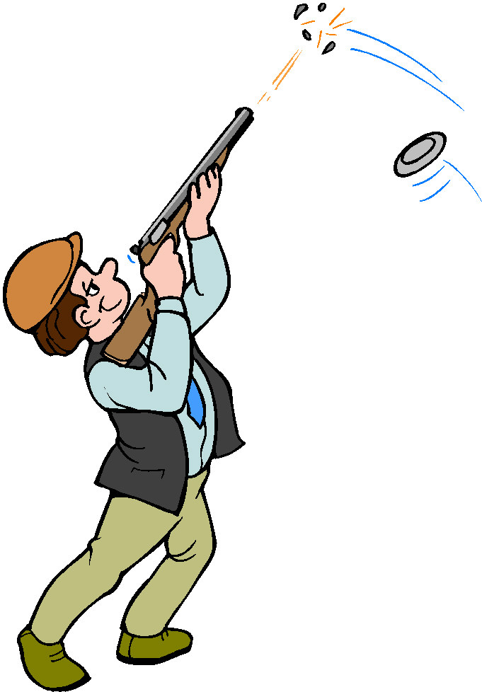 681x978 Clay Pigeon Clipart