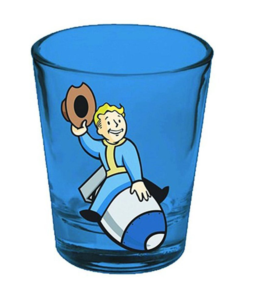 840x1001 Fallout Vault Boy Shot Glass Ebay