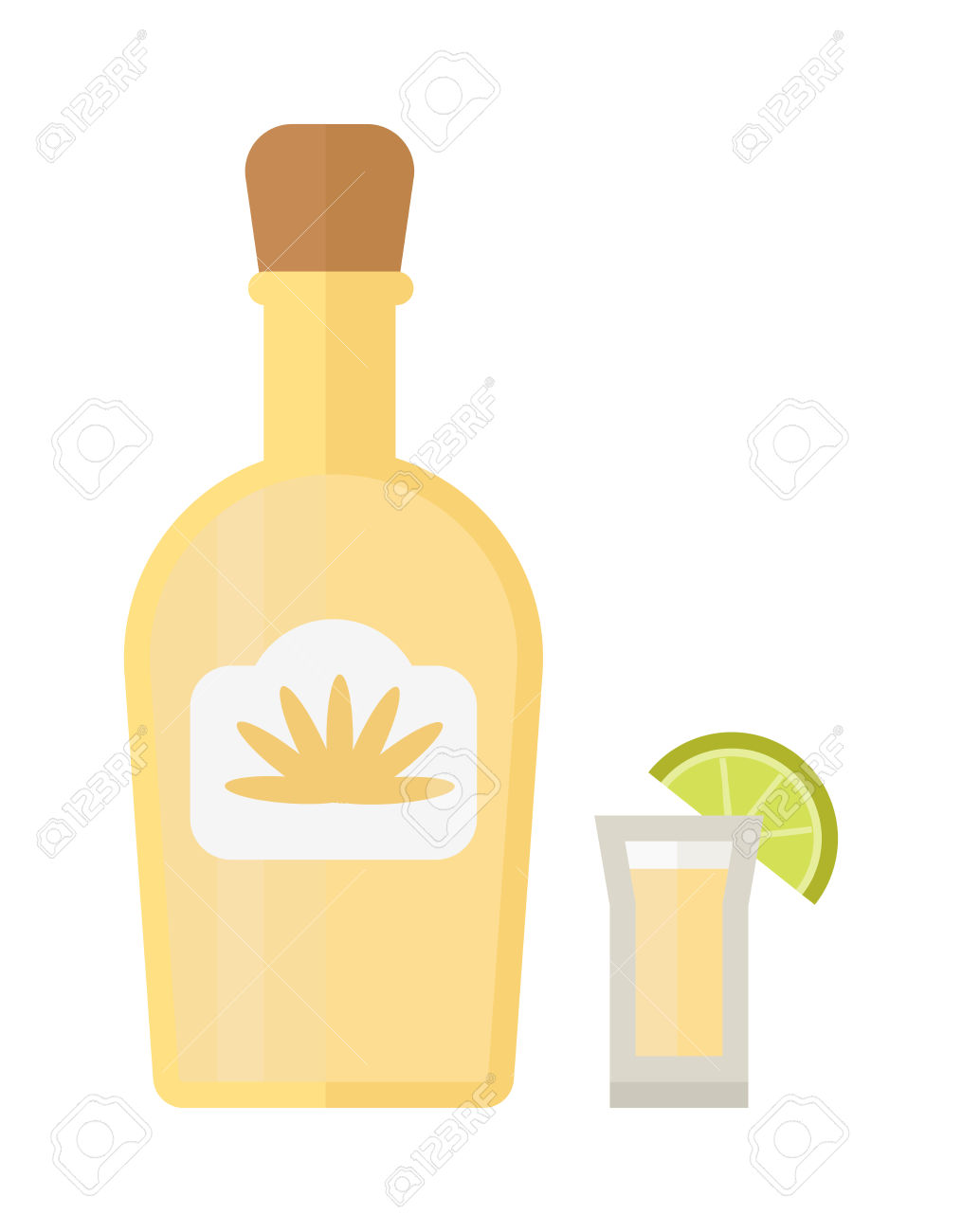 1015x1300 Lime Clipart Shot Glass