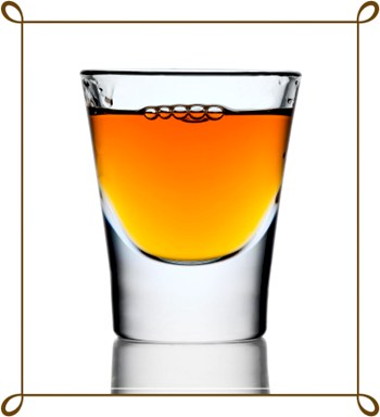 350x384 Shot Glasses Clipart