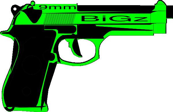 600x390 Gun Clip Art