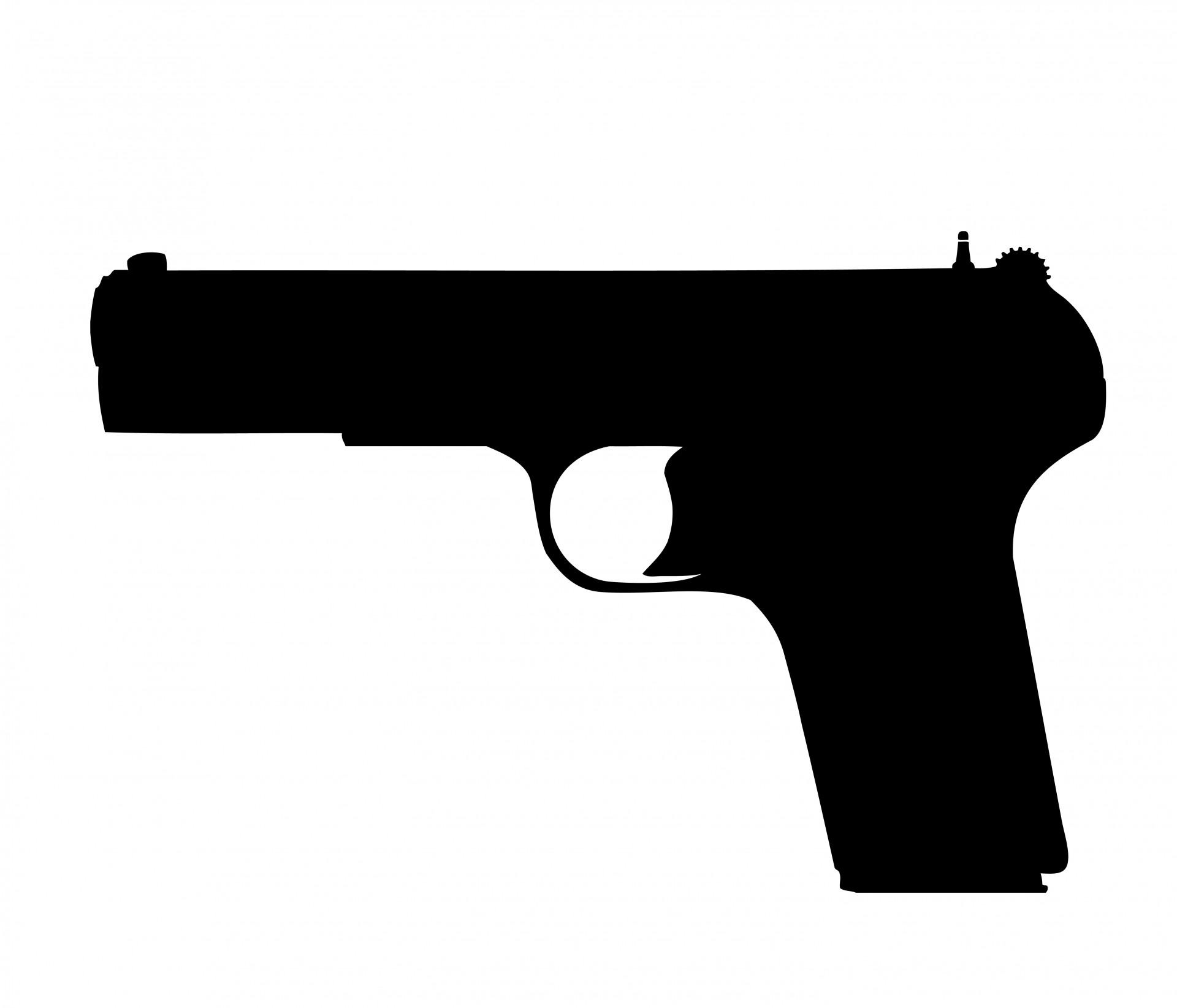1920x1645 Shotgun Clipart Black And White