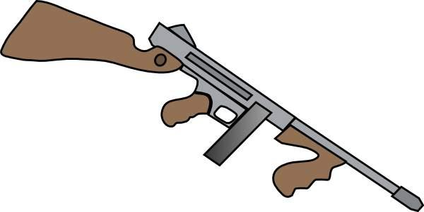 600x301 Shotgun Clipart Machine Gun
