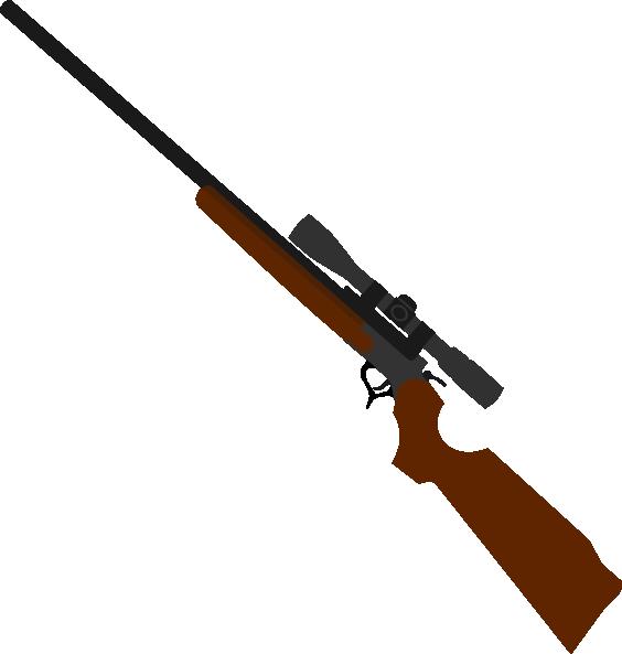 564x593 Sniper Clip Art