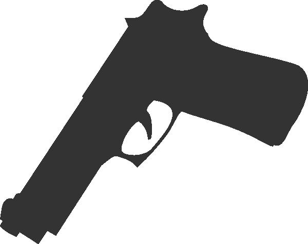 600x476 Black Clipart Shotgun 2496114