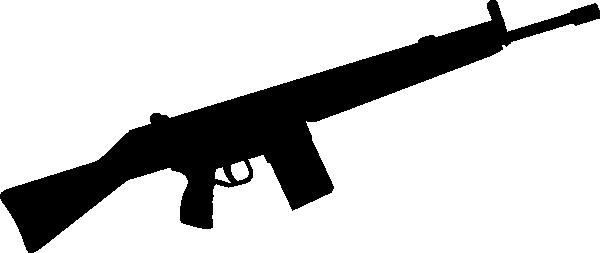 600x253 Shotgun Clipart