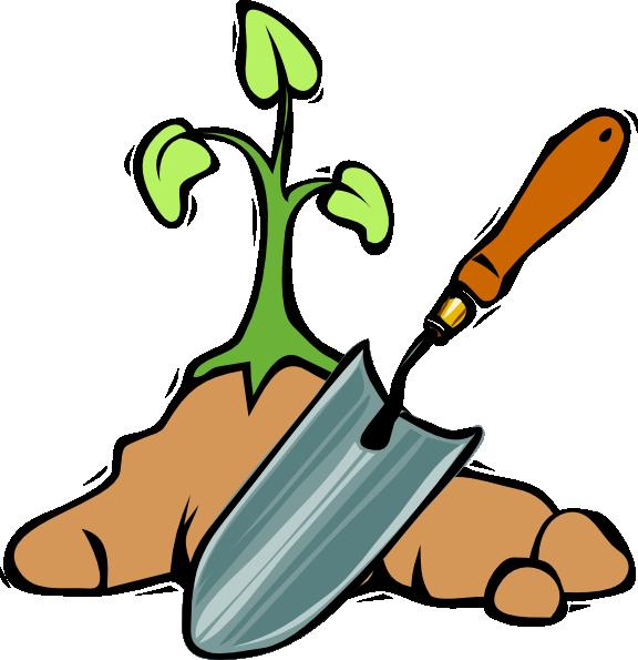 576x595 Gardening Shovel Clip Art